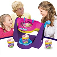 Laffy Taffy Ice Cream Maker Machine Toy - DIY Make Your Own Ice Cream - Creates Two Flavors at Once