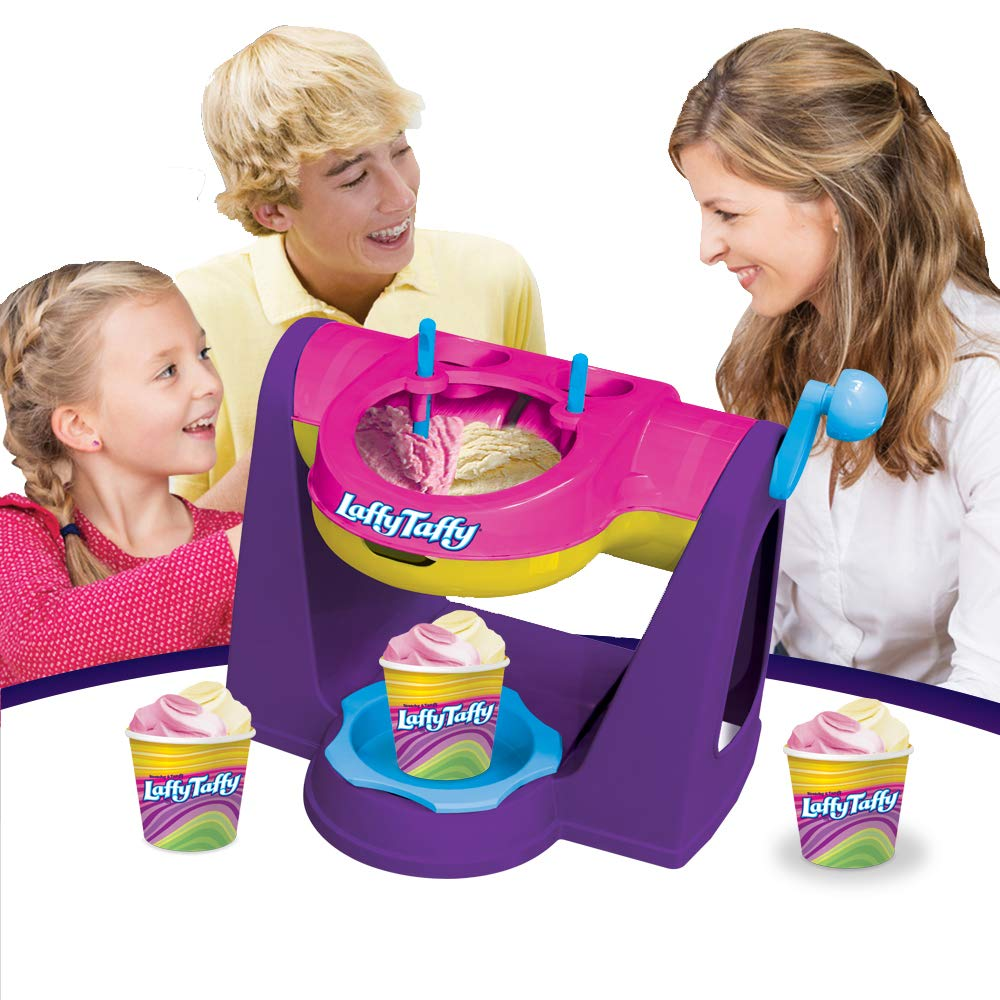 AMAV Laffy Taffy Ice Cream Maker Machine for Kids. Fun & Engaging Toy. Make Your Favorite Ice Cream Flavors at Home with Your Children. Best Activity for Friends to Do Together for Hours of Fun!