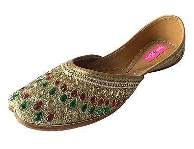 Step n Style Mujer jutti?–?Zapatos de piel, color multicolor, talla 38.5