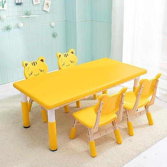 CTC Juego de mesa y silla para niños/niños, Aprendizaje de ...