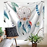 Tapestry Wall Hanging Dream Catcher Hippie Beach India Art Cool Bohemian Blanket Twin Size Style 3