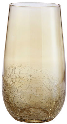Golden Luster Crackle Tumbler - Tall | Pier 1 Imports