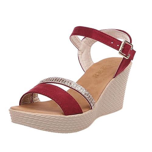 ccd3fa834 Sandalias Plataforma Vestir para Mujer
