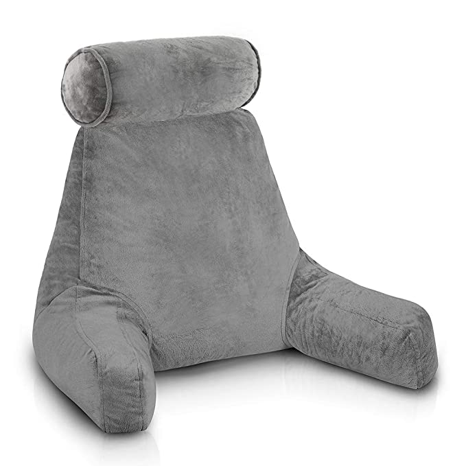 ComfySure Bedrest Reading and TV Pillow - Aesthetic and Environment-Friendly