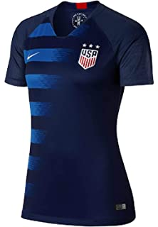 99b45a489ad Amazon.com : Nike 2018/19 Womens USA Stadium Home Jersey White/Red ...