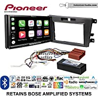 Volunteer Audio Pioneer AVH-W4400NEX Double Din Radio Install Kit with Wireless Apple CarPlay, Android Auto, Bluetooth Fits 2007-2009 Mazda CX-7 (With Bose)