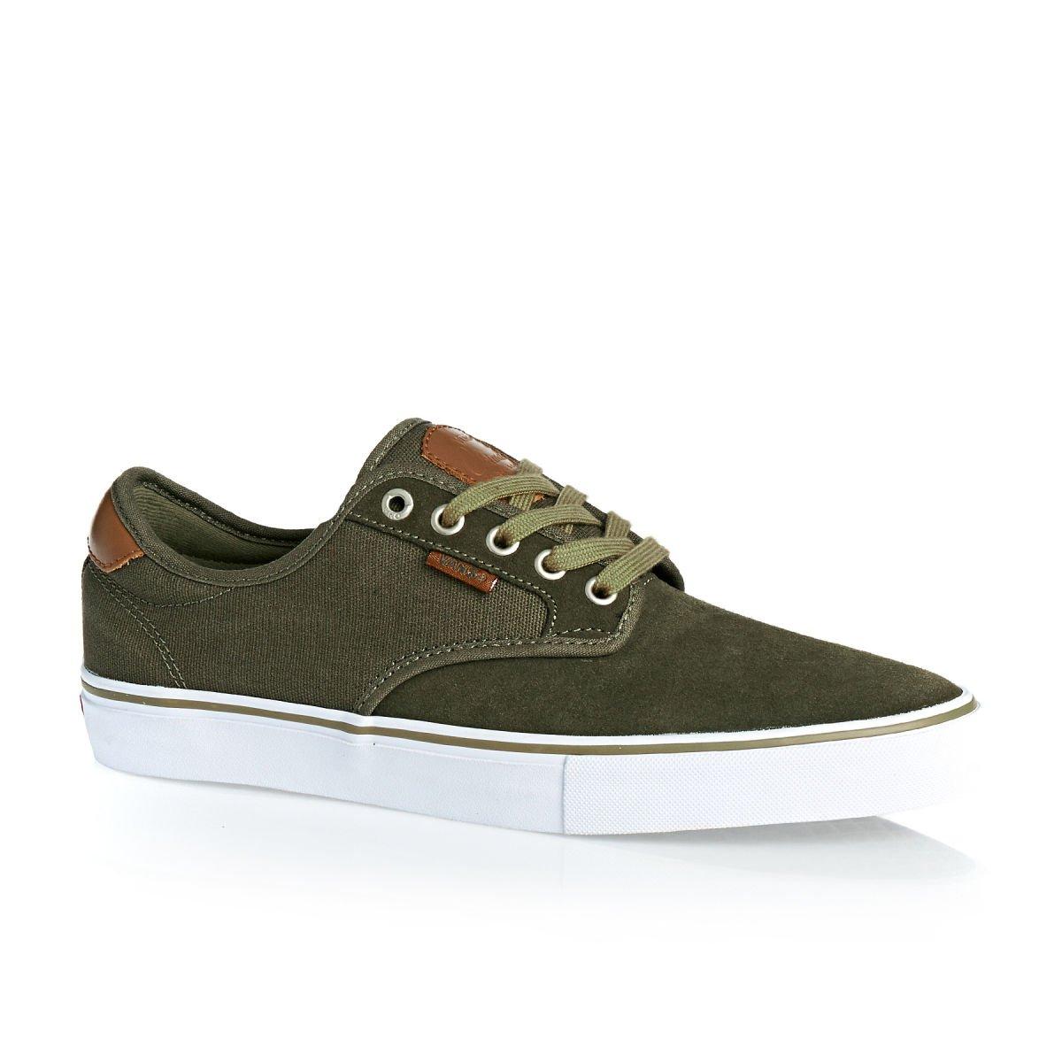 Vans Authentic, Zapatillas de skateboarding Unisex 10,5|Ivy Green/White