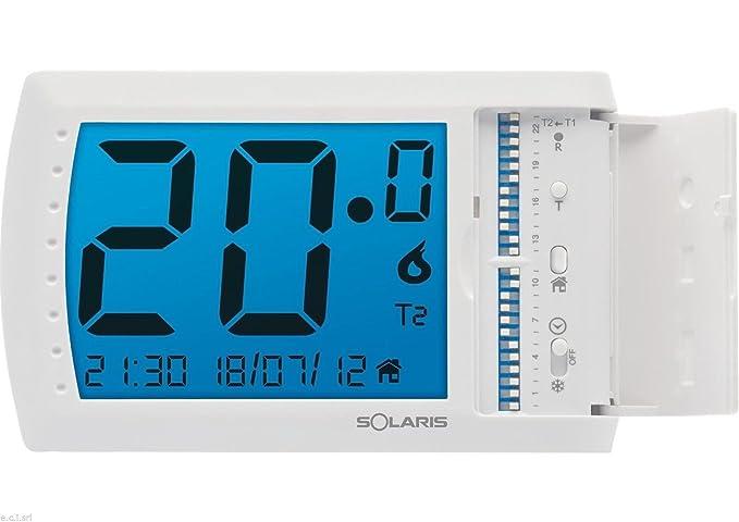Solaris - Explorer 7Uen 107150cronotermostato con pantalla tá ...