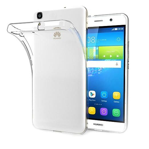 43 opinioni per Huawei Y6 Custodia Cover, AICEK Y6 Silicone Caso Molle di TPU Cristallo