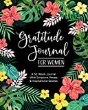 Gratitude Journal for Women: A 52 Week Journal With