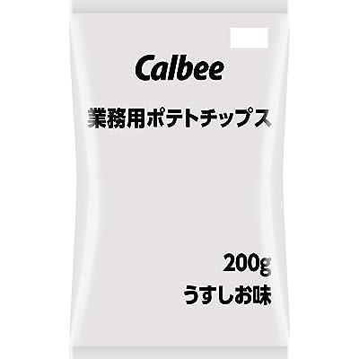カルビー 業務用ポテトチップス うすしお味 200g×6袋 送料込1,609円