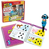 Educational Insights 2390 Hot Dots Jr. Let's Master Pre-K Reading Set with Ace Pen