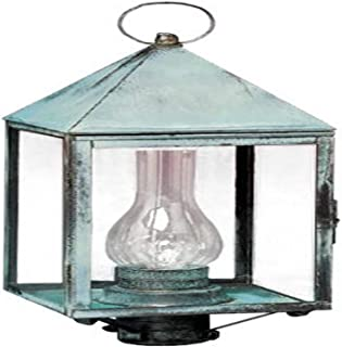 product image for Brass Traditions 560 DAAC Large Tall Post Lantern 500 Series, Antique Copper Finish 500 Series Tall Post Lantern