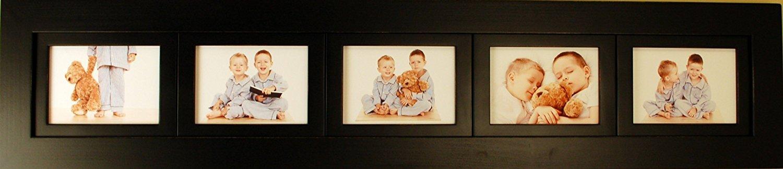 Amazon.de: 5, Collage Bilderrahmen mit fünf Querformat, 12, 7 x 17 ...