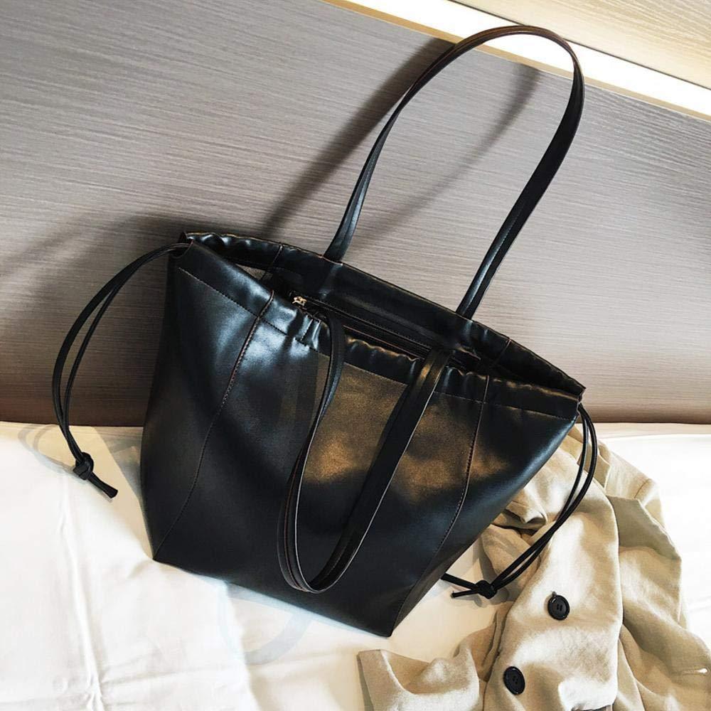 Y-YT Damen Handtasche Einzelne Umhängetasche Freizeit unterstützen große Kapazität Damen Tasche PU-Material 43  29  20 cm B07H7KVMDP Messenger-Bags