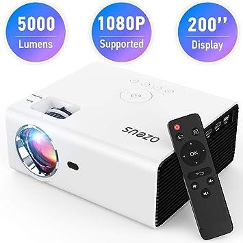 AZEUS RD-822 proyector de vídeo, 4000 lúmenes 1920 x 1080 ...