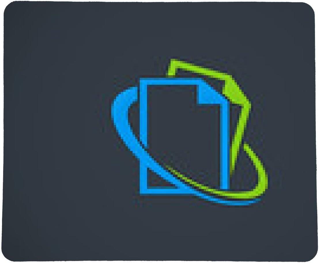 alfombrilla de ratón papel-documento de protección contra-vector-logo: Amazon.es: Electrónica