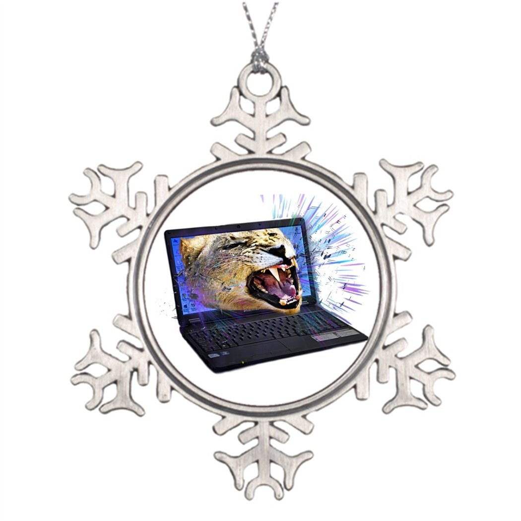 Butter Tisse Tree Branch Decoration I'm ready for Technology Cute Christmas Snowflake Ornaments