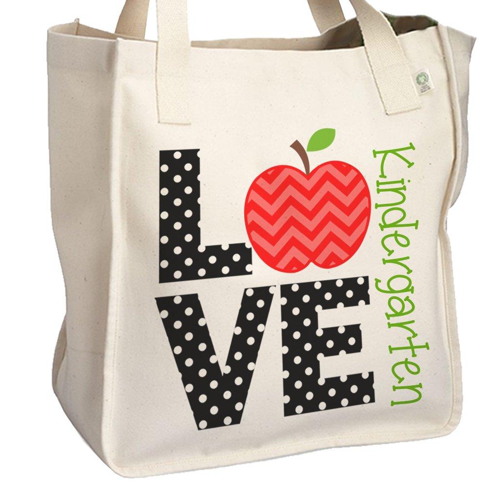 LOVE Kindergarten - School Teacher's Tote Bag - Perfect Gift for any teacher