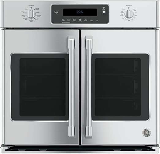 Amazon.com: GE Cafe CT9070SHSS horno de pared elé ...