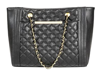 f7b3ef33b89 Image Unavailable. Image not available for. Color  Mossimo Quilted Tote ...