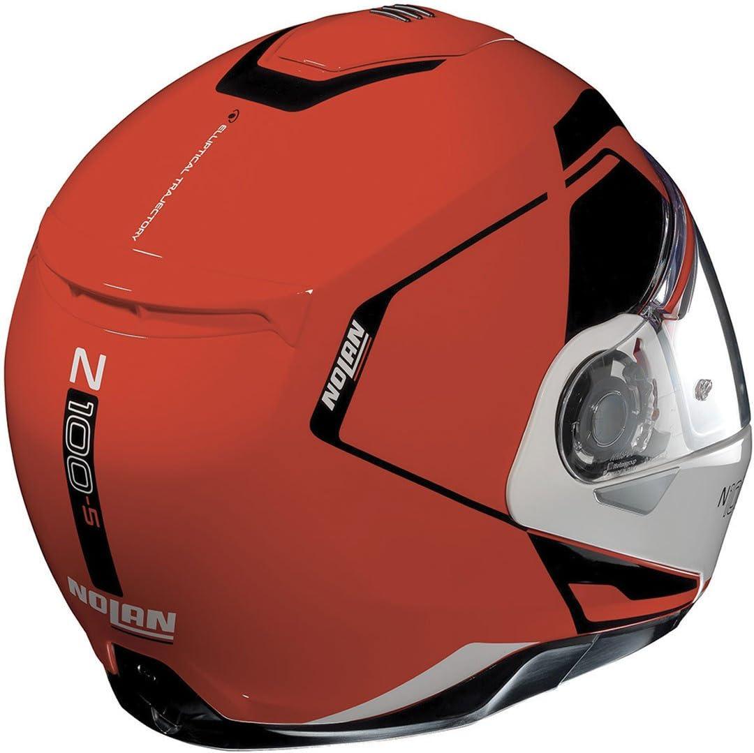 N100.5/ Casque de moto ouvrant modulaire avec avec visi/ère solaire int/érieure L CONSISTENCY 030 Nolan