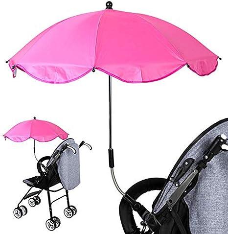 Sombrilla para silla de ruedas, universal UV, paraguas para