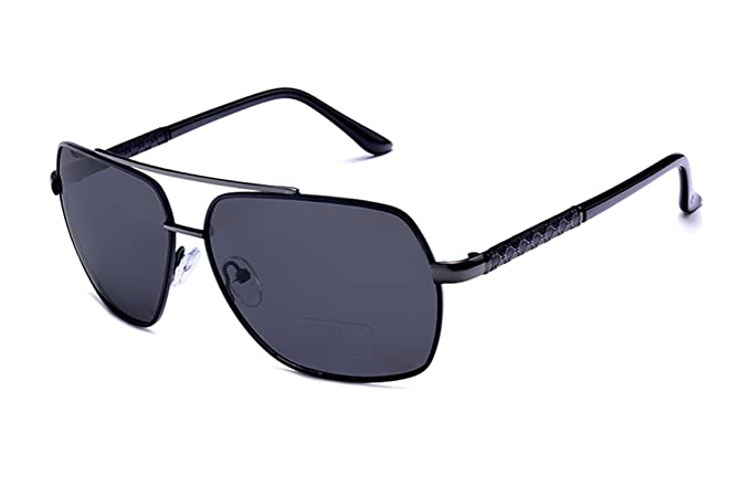 Amazon.com: Yaha see there 2018 Square Polarized Sunglasses Men UV400 Brand Designer Sunglass Sun Glasses oculos With Box black gray frame: Clothing