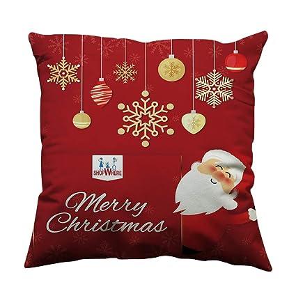 Amazon 40x40 Christmas Pillow Cover 40x40 Christmas Pillow Case Impressive Outdoor Christmas Pillow Covers