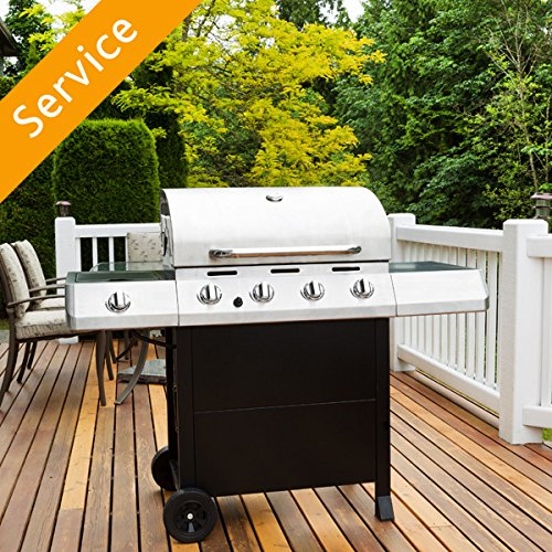 Grill Assembly - 4 or 5 burners by Amazon Home Services
