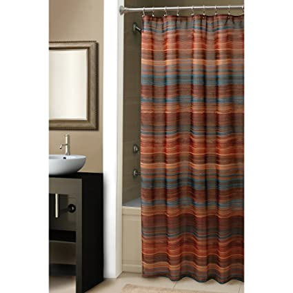 Croscill Ventura Shower Curtain 70 Inch By 72 Spice