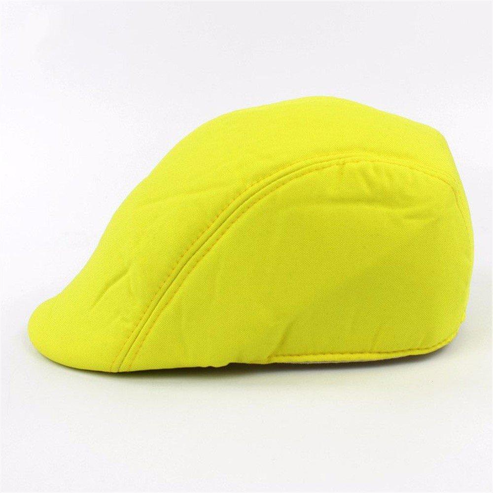 OSISDFWA Pato Pato Lengua Moda Boina Fluorescente Lengua Corta Placa Adelante Show Hat Beret Aleros Gorros De Punto