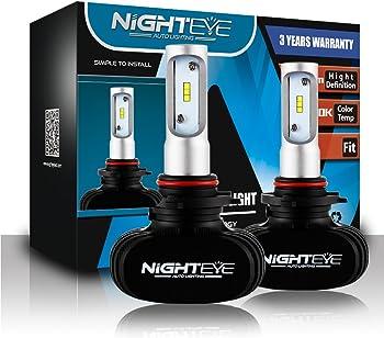 NIGHTEYE Bright LED Car Headlights