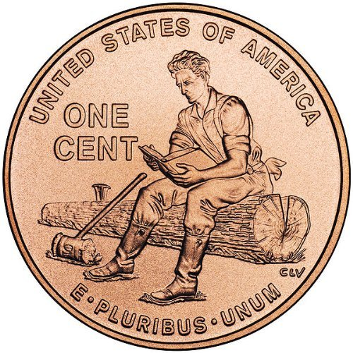 Uncirculated 2009 P Lincoln Bicentennial Cent Formative Years