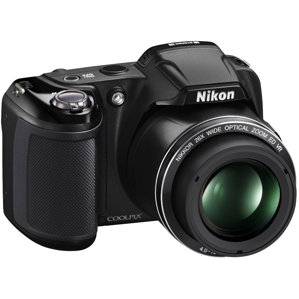 Nikon COOLPIX L810 16.1 MP Digital Camera with 26x Zoom NIKKOR ED Glass Lens and 3-inch LCD (Black) (Certified Refurbished) by Nikon