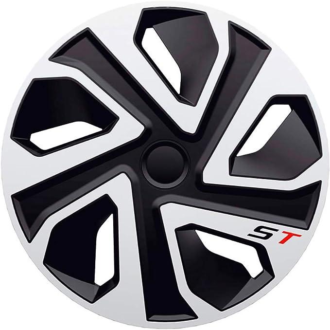 UNIVERSALE COPRI Radzierblenden LUXURY ARGENTO 16 pollici per modelli Ford