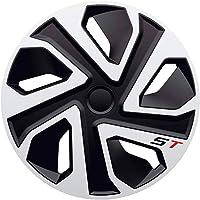 J-Tec J13551 Set wieldoppen ST 13-inch zilver/zwart, inch