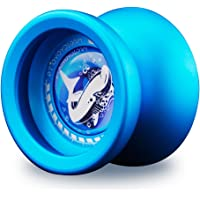 MaGICYOYO T9 Polished alloy aluminum Responsive Unresponsive Yoyo Ball Spin Toy for Kids