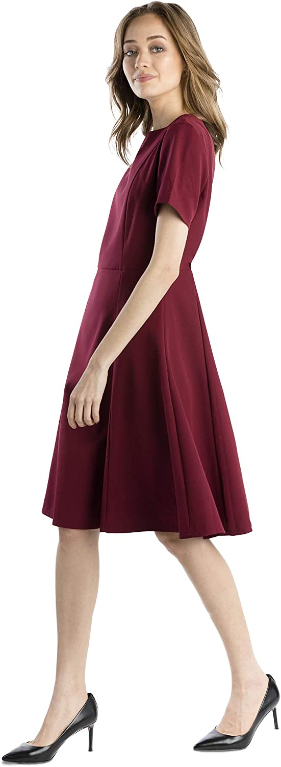 Flattering and Slimming Clare Middleton Paris Dress Perfect for Fall