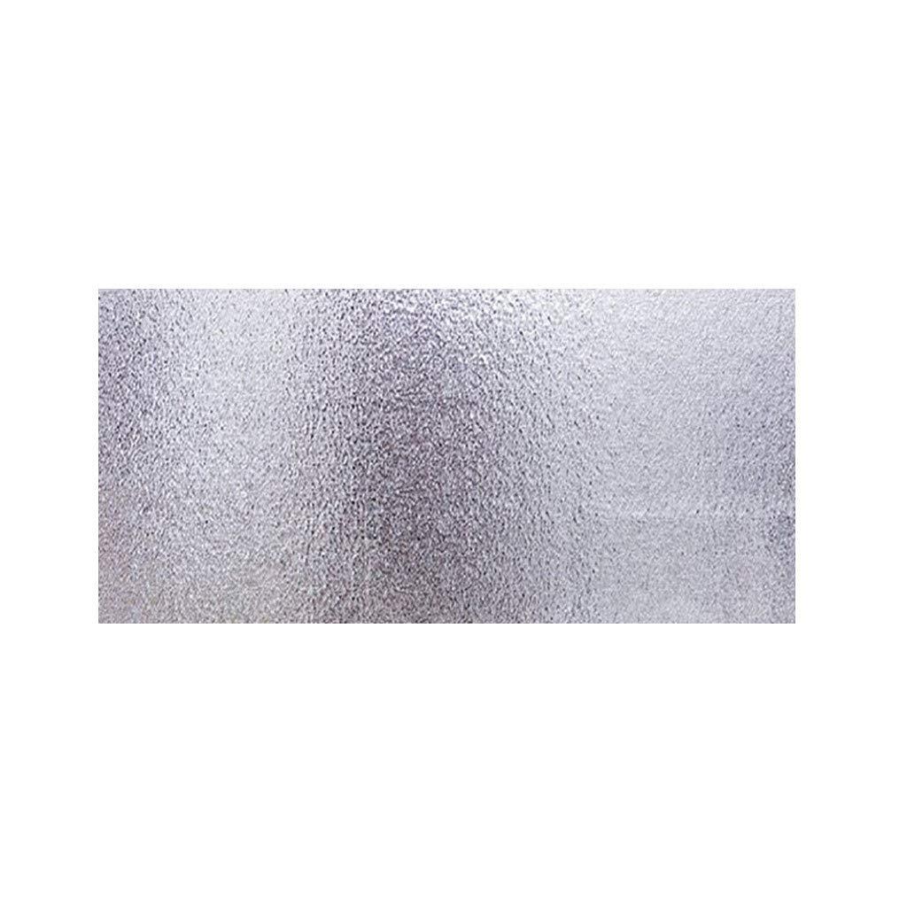 MineMine Autocollant en Aluminium Foil Papier Résistant à la Chaleur étanche Preuve Humide Substances Grasses aux Huiles Anti-Fuite Fournitures de Cuisine (40x100cm)