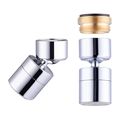 Waternymph 1 8gpm Kitchen Sink Aerator Solid Brass Big Angle