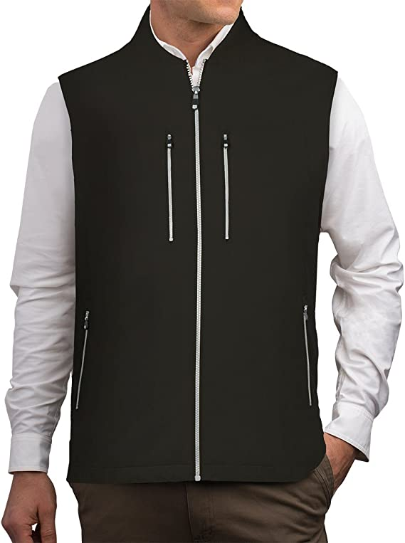 Men's Travel Vest With Inside Pockets