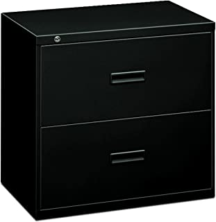 product image for HON Filing Cabinet - 400 Series Two-Drawer Lateral File Cabinet, 30w x 19-1/4d x 28-3/8h, Black (434LP)