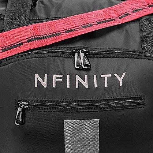 NfinityチアリーディングダッフルバッグW /ストラップ  ピンク B01NCK10HA