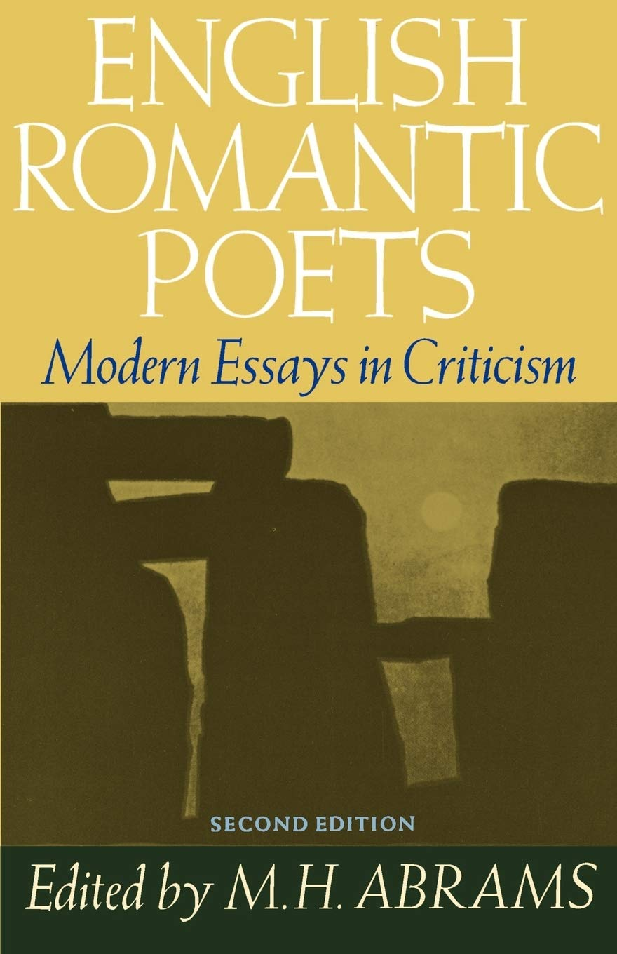 English romantic poets modern essays criticism everyday use by alice walker essay