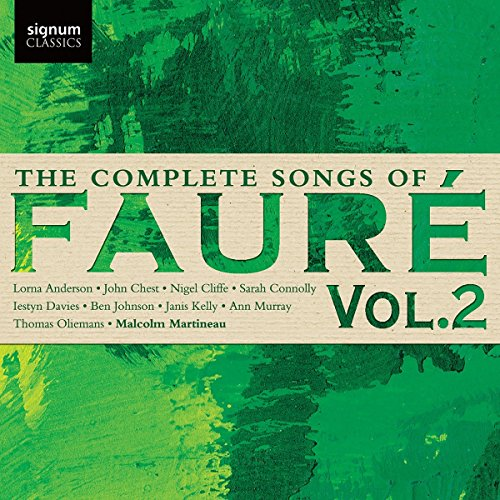 The Finish Songs of Faure, Vol. 2