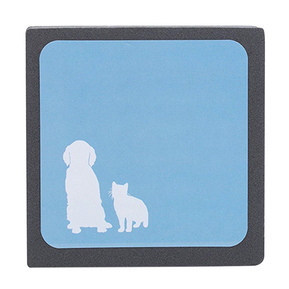 iBaste Haustier Haar Bürste für Remover-Reusable Home Reinigungsbürste, Tierbürste für Katzen,Hund iBaste_X