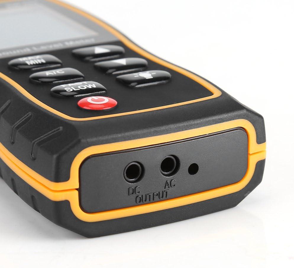 Garosa Digitaler pr/äziser Schallpegel Dezibel-Messger/ät Pr/äzise Ger/äuschmessger/ät 30~130dB Messen Sie multifunktional mit LCD f/ür Musiker und Sound-Audio-Profis