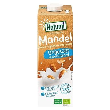 Bebida Almendras sin azucar Bio Natumi, 1 Litro: Amazon.es ...