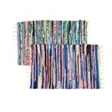 Royal Collection (2 Pack) Chindi Doorway Rag Rug